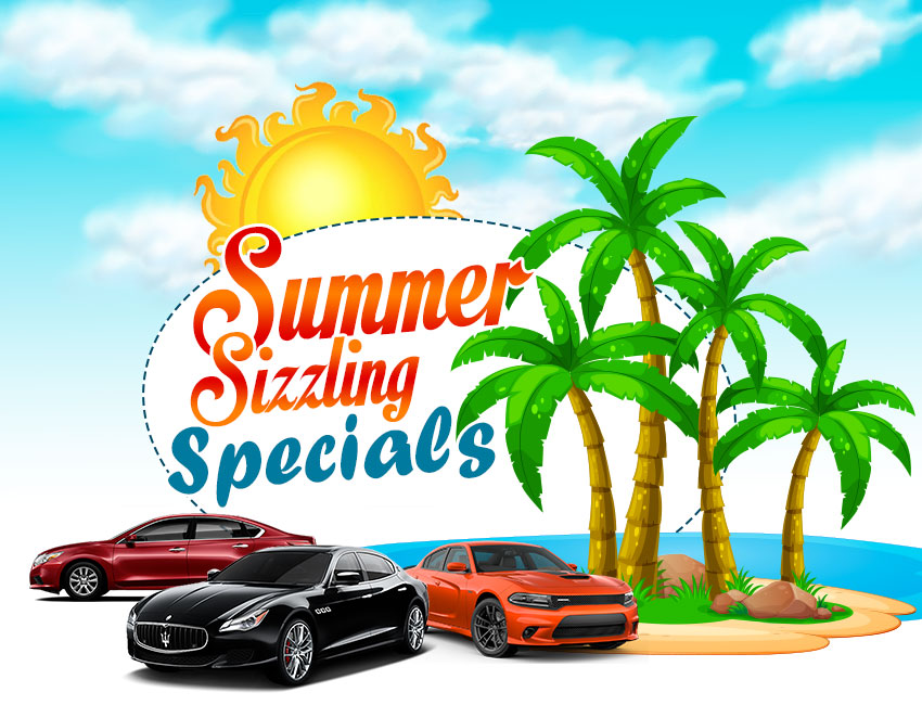 Summer sizzling specials