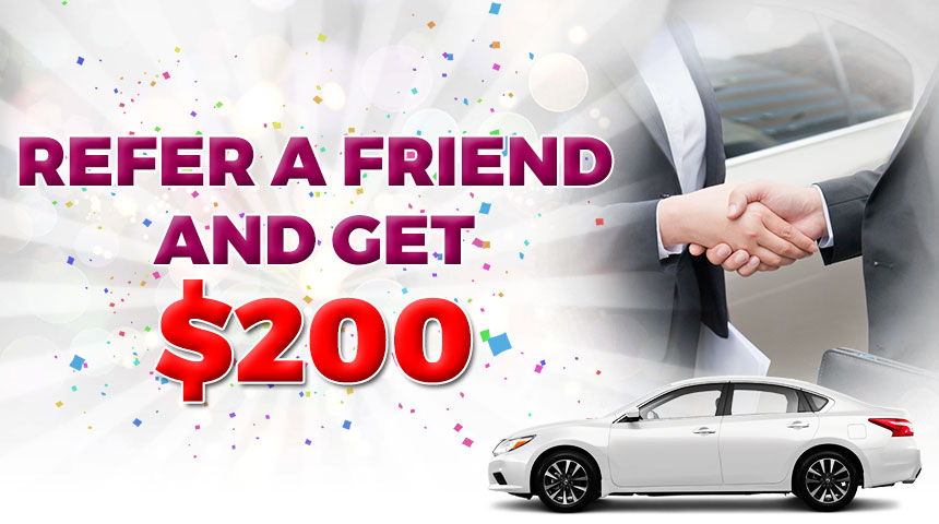 Refer a friend and get $200